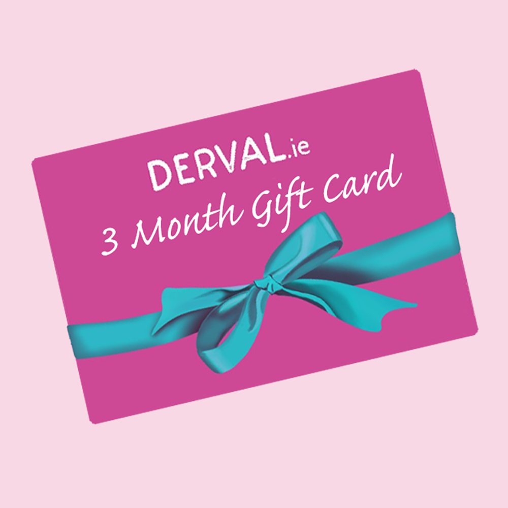 3 month gift card