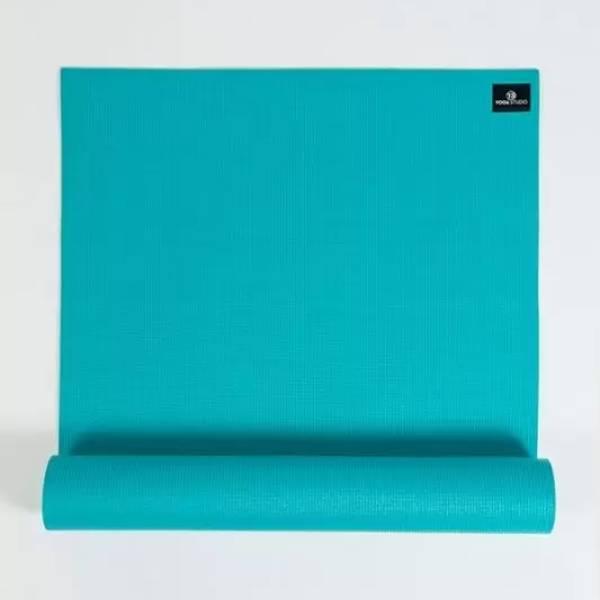 turquoise yoga mat