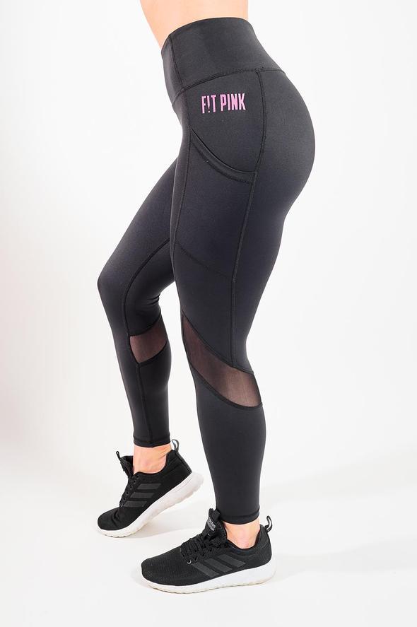 Black Side Pocket Legging