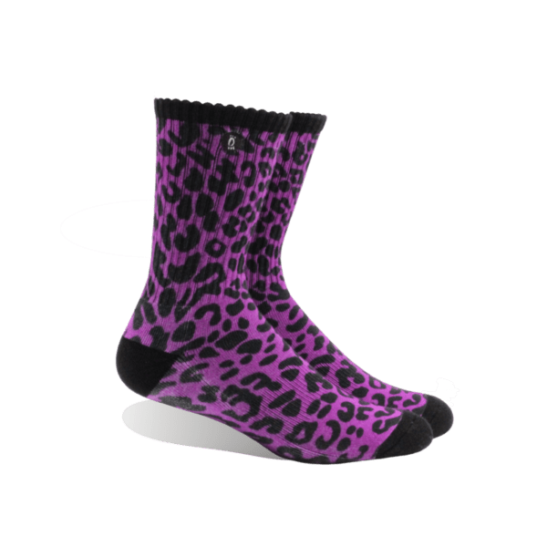 Halo Pink Leopard Crew
