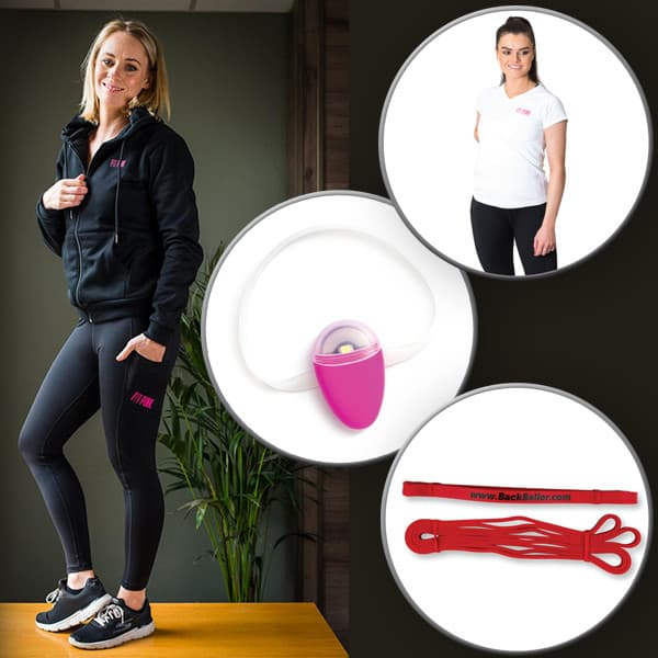 fitpink resistbands monitor tshirt